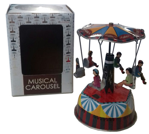 f30 Carrusel indio musical